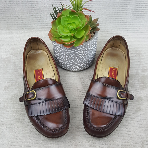 c5e8f24bbbe Cole Haan Other - Cole Haan City Monk Strap Kiltie Loafer Sz 10.5 D